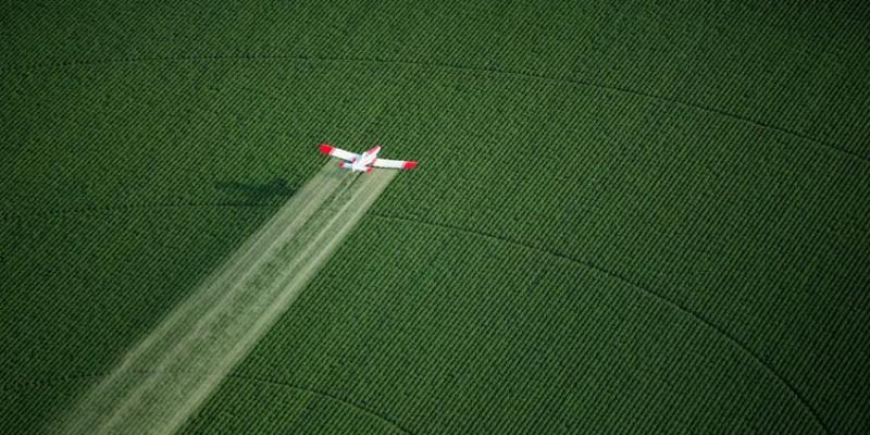 O município de Quitandinha, no Paraná, aprova lei que proíbe a pulverização aérea de agrotóxicos!