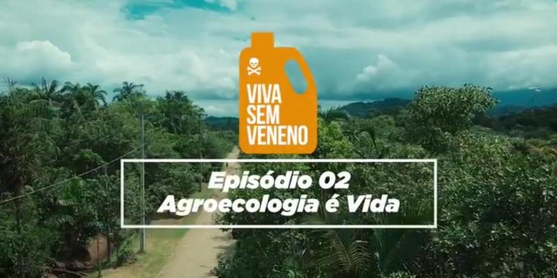 Agroecologia é Vida: está no ar o segundo episódio da Websérie Documental Viva Sem Veneno. Assista!
