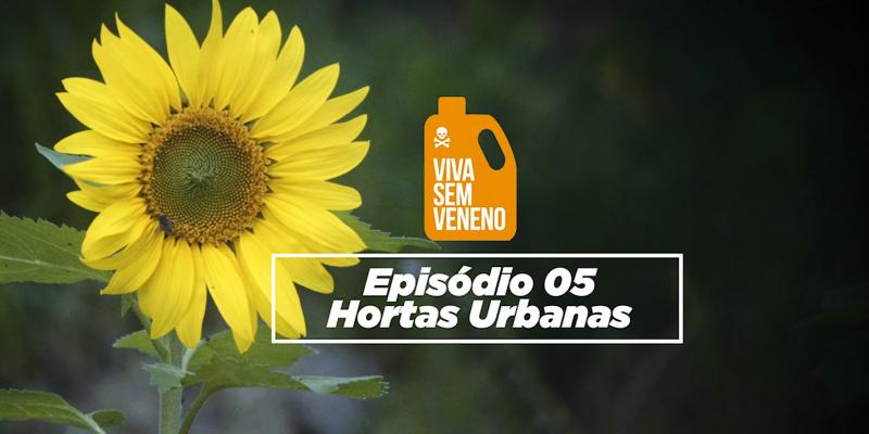 Hortas Urbanas é o tema do quinto episódio da Websérie Documental Viva Sem Veneno. Confira!
